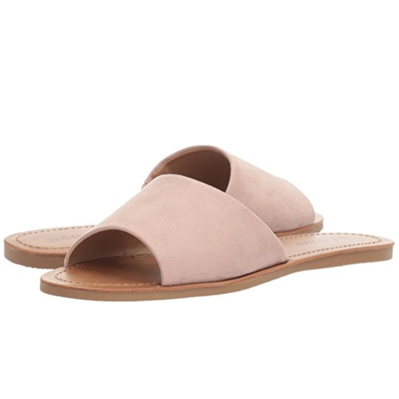 f73fdfe63913a CALL IT SPRING THIRENIA LIGHT PINK SLIDE SANDALS